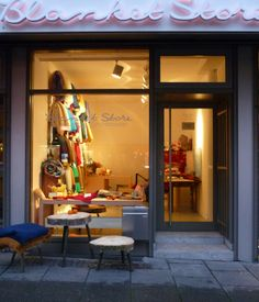 Nestled in behind a small glass storefront in central Frankfurt is a one-of-a-kind throw utopia. Blanket Store is a niche boutique dedicated to—yes, you guessed it—blankets, and owner Natalie Gray has found inventory that's stitched, knit, and woven around the world.