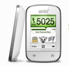 The Striiv pedometer makes getting in a shape a game. {And we're giving one away!}