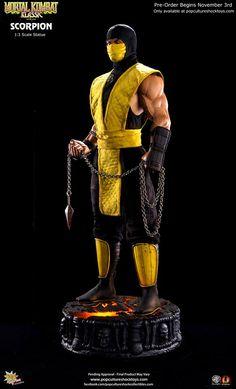 Mortal Kombat - Scorpion - Pop Culture Shock - 1/13