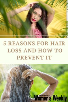 Here are five reasons you're losing hair and some solutions, from ways to destress and what food to eat for healthier hair, to an anti-hair loss treatment that uses stem cells. #haircare #hairtips Asian Hair Care, Hair Loss Reasons, Ways To Destress, Losing Hair, Hair Growth Cycle, Sensitive Scalp, Healthier Hair, Anti Hair Loss, Healthy Scalp