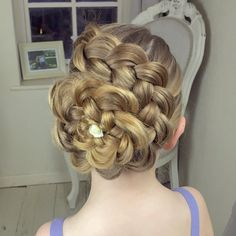 The Flower Braid by SweetHearts Hair Design - YouTube