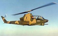 Prototipo del AH-1 Cobra.
