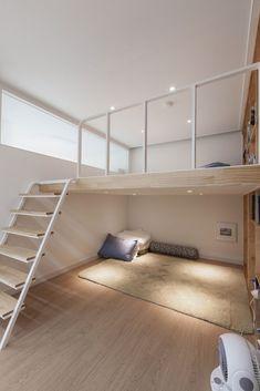 Small Space Design, Small House Design, Small Spaces, Small Apartment Design, Small Room Design Bedroom, Home Room Design, Loft Interior Design, Loft Design, Loft Room