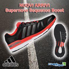 Novità in arrivo! #Adidas Supernova Sequence Boost. Non vorrai più smettere di correre!