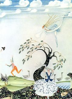 """Kay Nielsen «Hansel and Gretel and Other Stories»   """"Pictures and talk"""""""