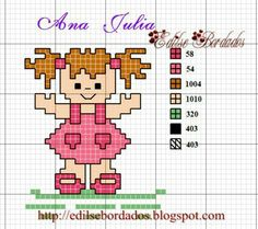 Designing Your Own Cross Stitch Embroidery Patterns - Embroidery Patterns Cross Stitching, Cross Stitch Embroidery, Embroidery Patterns, Cross Stitch For Kids, Cross Stitch Heart, Funny Cross Stitch Patterns, Cross Stitch Designs, Cross Stitch Numbers, Stitch Doll