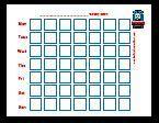 Free Potty Training Charts With Popular Characters (Thomas the train, Elmo, Hello Kitty, etc)