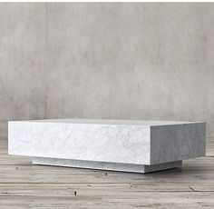 Marble Plinth Coffee Table - Living room?