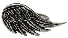 Inked Boutique - Angel Wing Ring Tattoo Rockabilly Jewelry http://www.inkedboutique.com