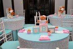 "Photo 3 of 23: Baby Shower/Sip & See ""Building Blocks & Bears"""