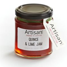 Quince & Lime Jam.
