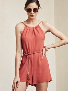 Add a jumpsuit/romper to your spring and summer wardrobe. The Anis Jumper by Reformation.