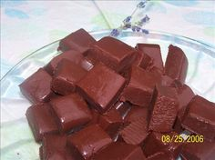 Lavender  Fudge from Food.com:   Chocolate is soothing then you add lavender and you're in Heaven.