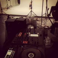 Sound system, music, yoga, dance. Advika Fashion shoot.