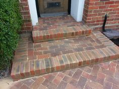brick steps to a house - Google Search