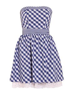 Robe bustier vichy Morgan, Summer Outfits, Summer Dresses, Gingham Dress, Second Skin, Pretty Girls, Dresses For Work, My Style, Dress Ideas