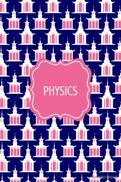 Physics Binder Cover