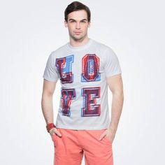 Love Hate White Graphic T-shirt  Designed in white to offer you instant style, this tee with a fun and catchy print will reflect your modern dressing.Buy Nowhttp://zovi.com/love-hate-white-graphic-t-shirt--11624507901