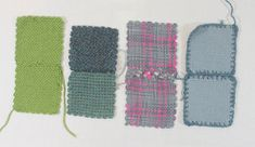 Guest Post on the Woolery Blog - 5 Easy Tips for Seaming Your Zoom Loom Squares