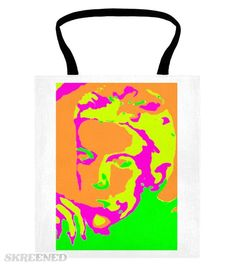 DAVID BOWIE PSYCHEDELIC #Skreened Printed Tote Bags, David Bowie, Psychedelic, Reusable Tote Bags, Textiles, Prints, Fun, Bags, Fin Fun