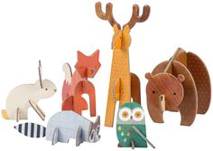 Petit Collage Pop Out Woodlands - Free Shipping