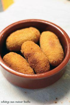Spanische Tapas {Croquetas de jamon & andalusische Gazpacho} - Schätze aus…