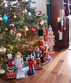 Trev would love nutcrackers around the tree