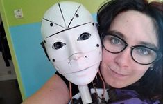 A French woman has revealed she is in love with a robot and is determined to marry it. Lilly's partner is a robot called InMoovato. 3d Printed Robot, 3d Printing News, Getting Engaged, Thought Provoking, Falling In Love, Relationship, Prints, Women, 3d Printer