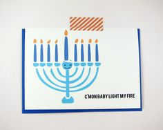 Light My Fire Holiday Card $6  #holidaygifts