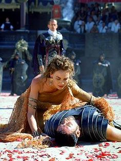 The best movie made in my opinion. Gladiator.... Russell Crowe. <3