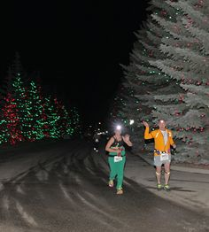 Spruce Meadows Launches its festive lights with the Dashing Through The Glow Run. #RunSM