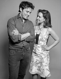 Sam Claflin & Emilia Clarke                                                                                                                                                      Más