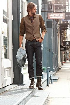 Jeans in boots mens fashion – Global fashion jeans collection