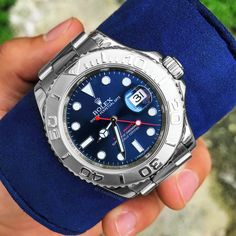 Luxury Watches, Rolex Watches, Watches For Men, Drop, Jewels, Blue, Accessories, Fancy Watches, Gents Watches