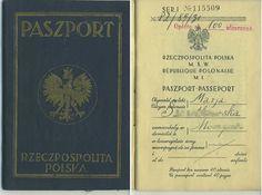 Polish passport.