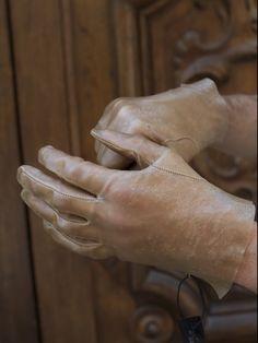 Boris Bidjan Saberi's Transparent Lamb Leather Glove