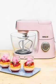 Anna Polyviou | With her creative cooking style, infectious energy and love of all things pink, Anna is the perfect match for Kenwood's new Chef Sense Colour collection.