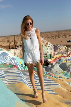 such a pretty jumpsuit! // The Blonde Salad by Chiara Ferragni