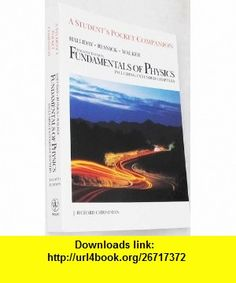 Fundamentals of Physics, Pocket Companion (9780471111740) David Halliday, Robert Resnick, Jearl Walker , ISBN-10: 0471111740  , ISBN-13: 978-0471111740 ,  , tutorials , pdf , ebook , torrent , downloads , rapidshare , filesonic , hotfile , megaupload , fileserve