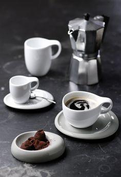 Kollektion Tao | Kaffee Set: Tassen für Cappuccino, Espresso, Latte Macchiato, Kahla Porzellan
