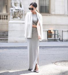 This maxi is magic. #dressedup #outfitideas : @9to5chic