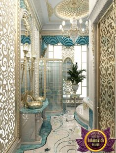 ~ Bathroom Design in Dubai, The Best Interior Design Bathroom, Photo 3 ~ antonovich-design.