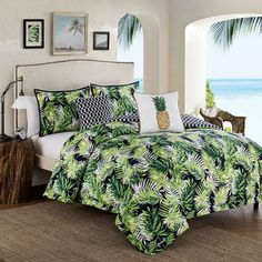 Shop for Tropical Paradise 5-Piece Green Comforter Set. Get free shipping at Overstock.com - Your Online Fashion Bedding Outlet Store! Get 5% in rewards with Club O!