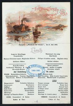 Browse vintage menus online!