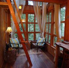Trillium Treehouse at Treehouse Point 004