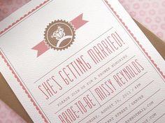 Bridal Shower - Invitations