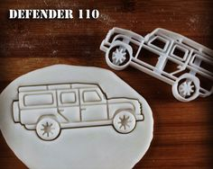 Land Rover Defender 110 Inspired Cookie Cutter   Classic Utility Vehicle biscuit cutter   four-wheel-drive off-road car   one of a kind ooak