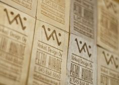Wooden business card is your best bet if you want trash proof your business card. Here are 38 examples of wood business cards for inspiration. Examples Of Business Cards, Wood Business Cards, Business Card Design, Creative Business, Clever Design, Cool Designs, Buisness, Brand Packaging, Typography Design