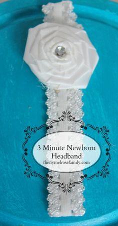 3 Minute Newborn Headband