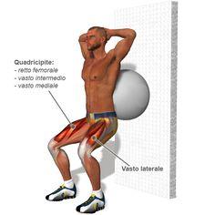 Esercizi di Rinforzo Muscolare (Quadricipite in toto)